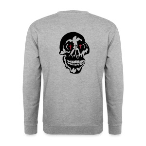 tete head dead mort gothique2 Sweat-shirts - Sweat-shirt Homme