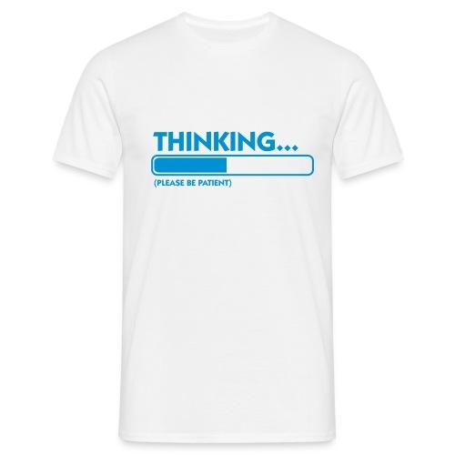 Thinking  - Camiseta hombre