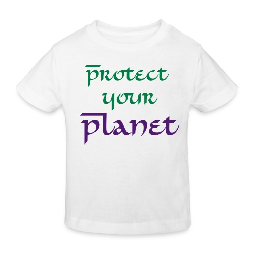 Protect your Planet - T-shirt bio Enfant
