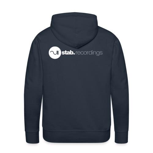 Men sweater with hood. - Mannen Premium hoodie