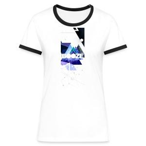 Girl Retro Shirt Booze. - Vrouwen contrastshirt