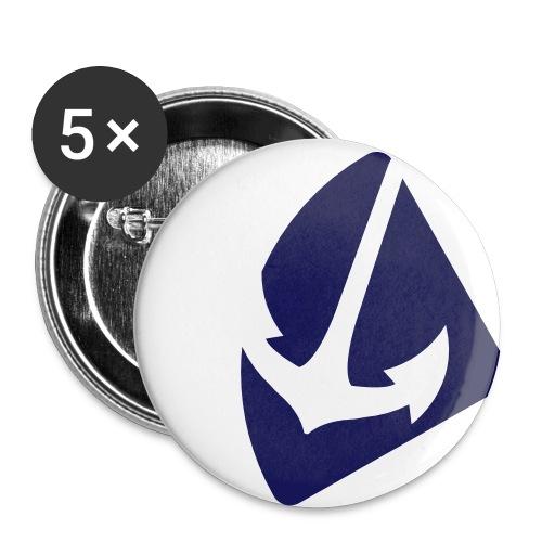 Heimatviertel Button - Buttons mittel 32 mm (5er Pack)