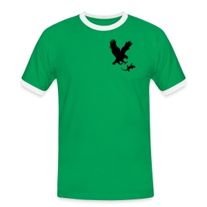 N-GEN EAGLE VS GECKO TSHIRT - Men's Ringer Shirt