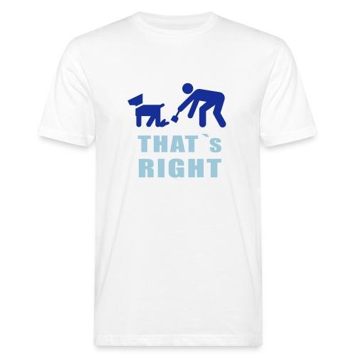Männer Shirt - Männer Bio-T-Shirt