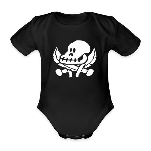 Røverbaby-plagg - Økologisk kortermet baby-body