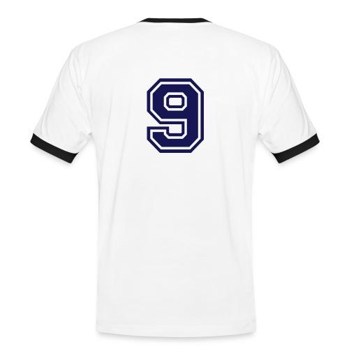 Meine Nummer 9 - Männer Kontrast-T-Shirt