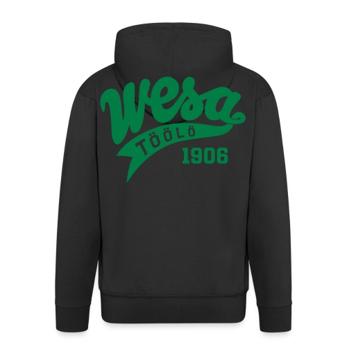 Wesa Vintage 1 - Miesten premium vetoketjullinen huppari