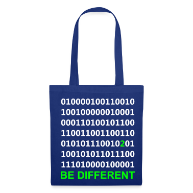 Be Different - Binary - Digital Bags