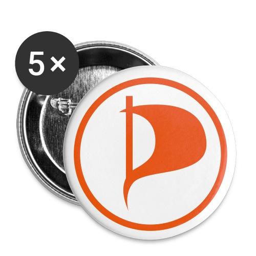 Buttons mittel 32 mm (5er Pack)
