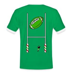 t-shirt rugby design - T-shirt contrasté Homme