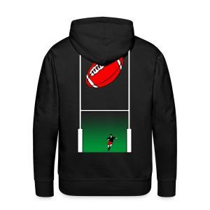 sweatshirt rugby sport - Sweat-shirt à capuche Premium pour hommes