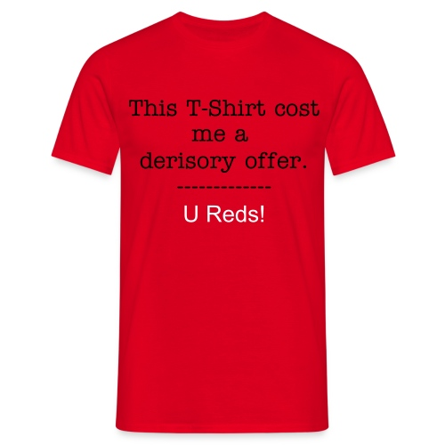 Derisory Clr - Men's T-Shirt