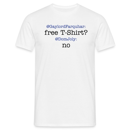 DomJoly says No - Men's T-Shirt