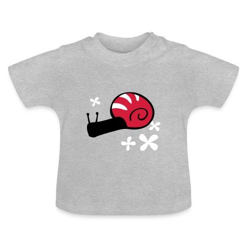 """Babyshirt """"Schnecke"""" - Baby T-Shirt"""