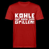 T-Shirts ~ Männer Bio-T-Shirt ~ Öko-Grillmeister Feuer