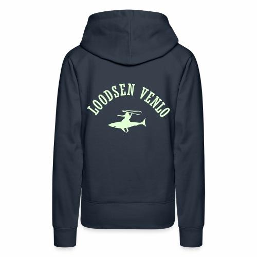 Loodsen trui: vrouw - Vrouwen Premium hoodie