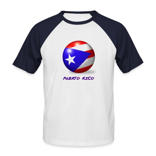 Puerto Rican Style On2 - Männer Baseball-T-Shirt