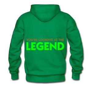 i don't like school - Mannen Premium hoodie