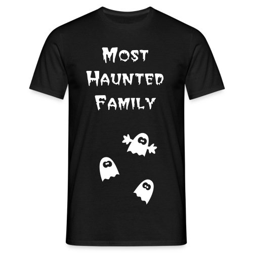 Men's Short Sleeved Most Haunted Family T-Shirt - Men's T-Shirt