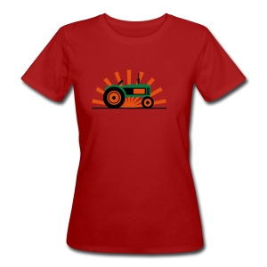 TRAKTOR T-shirts - Ekologisk T-shirt dam
