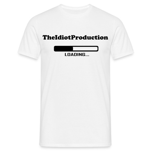 TheIdiotProduction Loding - Männer T-Shirt