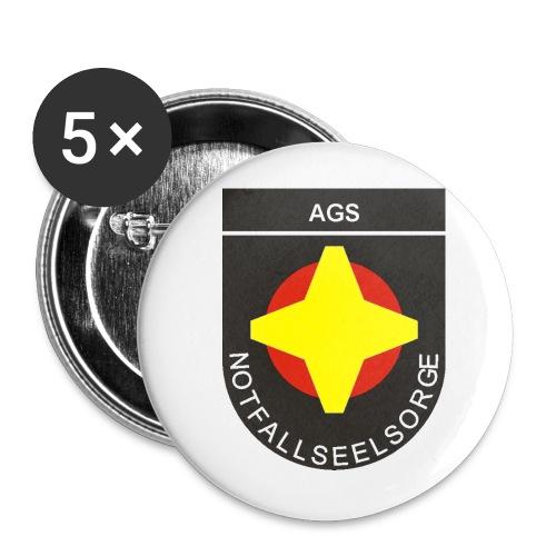 Button 5er-Pack - Buttons mittel 32 mm