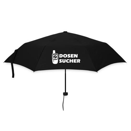 Geocaching GPS Dosensucher - Flexdruck - Regenschirm (klein)