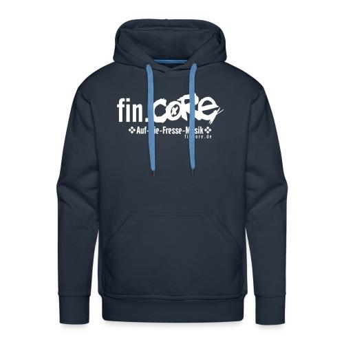 fin.core Kapuze - Männer Premium Hoodie