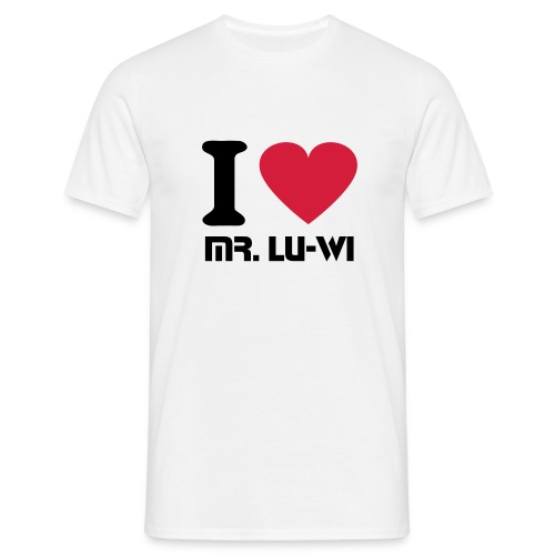 T-Shirt - I Love Mr. Lu-Wi - Men - Männer T-Shirt