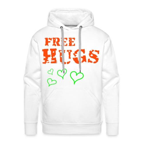 Free hugs - Men's Premium Hoodie