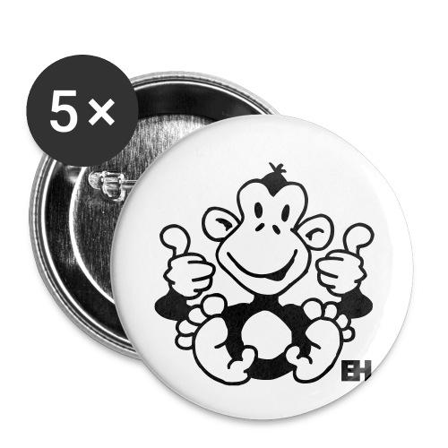 Monkey News badge - Buttons/Badges stor, 56 mm (5-pack)
