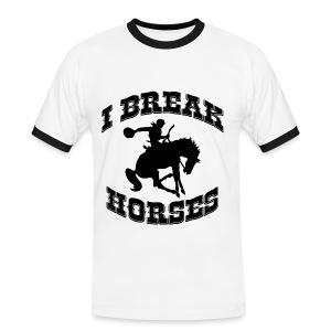 I Break Horses - Men's Ringer Shirt