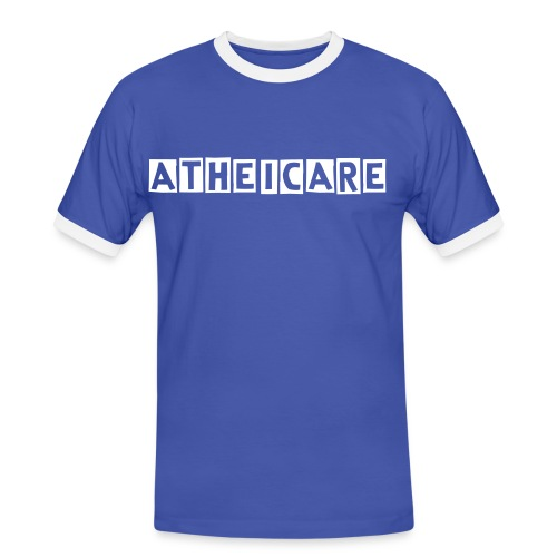 ATHEICARE-SUPPORT-SHIRT-I-MEN - Männer Kontrast-T-Shirt
