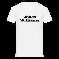 T-Shirts ~ Men's T-Shirt ~ Jones Williams