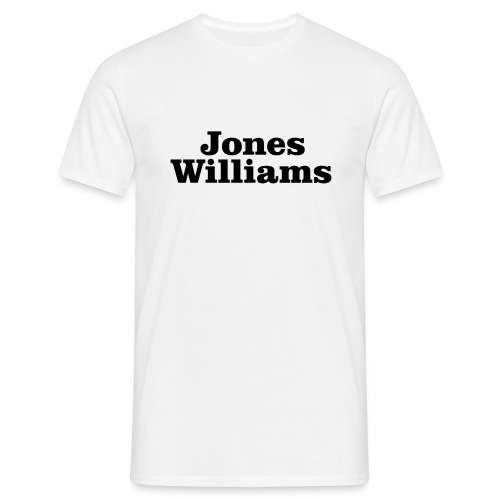 Jones Williams  - Men's T-Shirt
