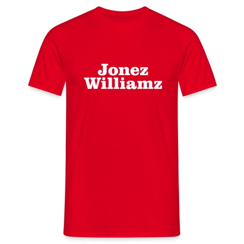 Jonez Williamz - Men's T-Shirt