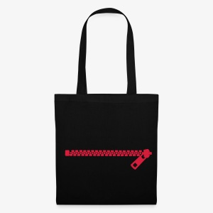 Zip zipper - Tote Bag