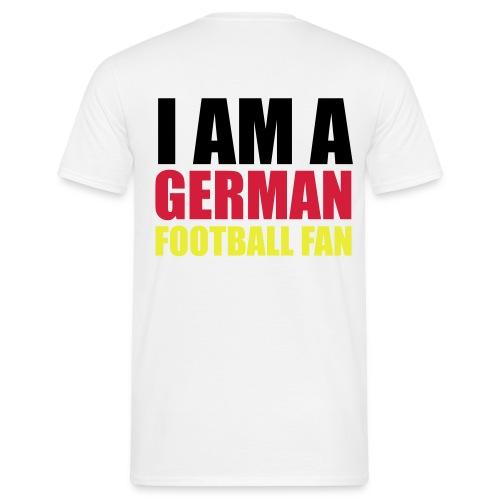 Deutscher Fußball Fan - Männer T-Shirt