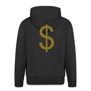 Flash that cash - Men's Premium Hooded Jacket