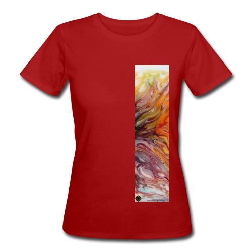 Winterspaziergang für Frauen im Sommer - Frauen Bio-T-Shirt