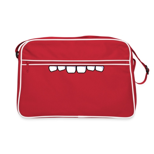 gefräßige Tasche - Retro Tasche