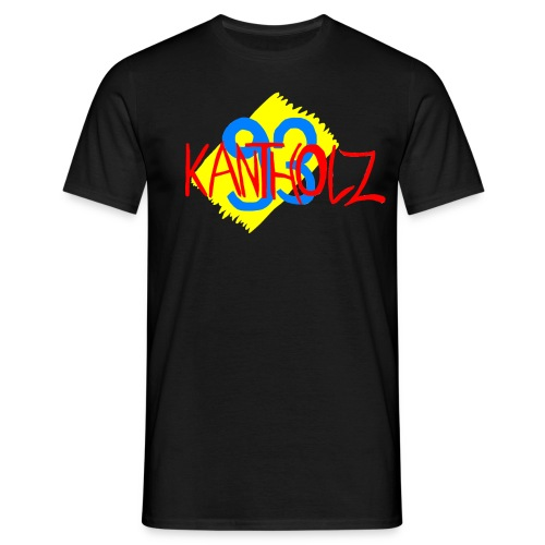 Kantholz93 Herren T-Shirt Ich weiß noch damals - Männer T-Shirt