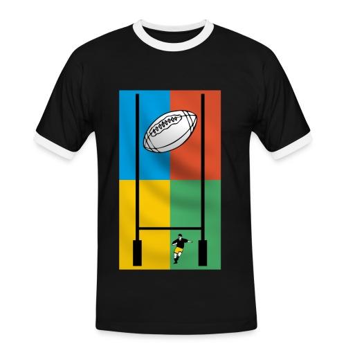 t-shirt sport rugby design - T-shirt contrasté Homme