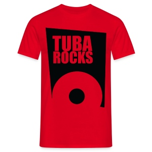 Tuba Rocks - Mannen T-shirt
