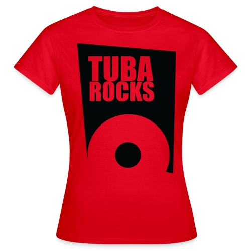 Tuba Rocks - Vrouwen T-shirt