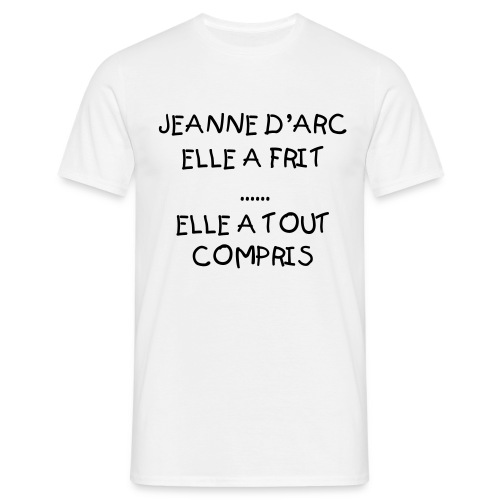 FREE homme blanc - T-shirt Homme