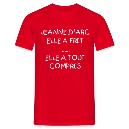 FREE homme rouge - T-shirt Homme