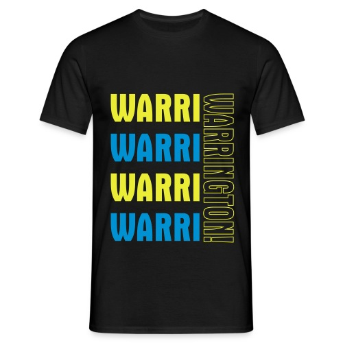 Warri Warrington Black T - Men's T-Shirt