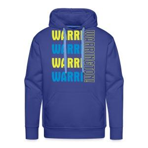 Warri Warrington Blue Hoodie - Men's Premium Hoodie