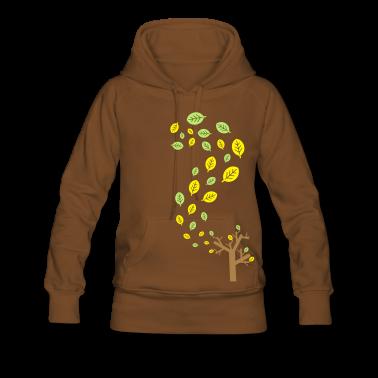 Automne feuilles dans le vent - 3 couleurs Sweat-shirts